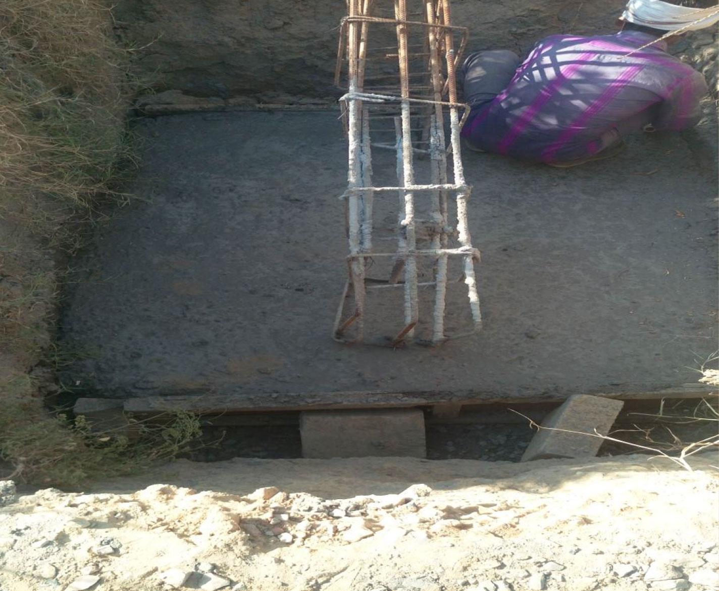 Rcc Wall Construction : Krishna bhumi enchanted living apartments villas in